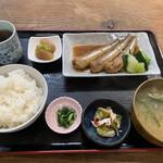 駅前いちば食堂 - 煮魚 沖イワシ