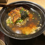Unagiyondaimekikukawa - うなぎ茶漬けセット