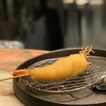 創作串揚げ専門店 ミラージュ - 料理写真:天使の海老