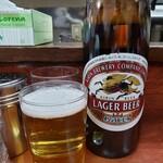珍々亭 - 瓶ビール(小瓶)