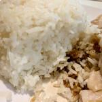 天鶏 - ご飯アップ