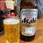 万福食堂 - 瓶ビール(大瓶)