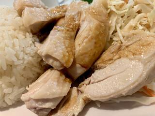 天鶏 - 鶏肉アップ