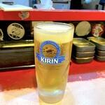 千日前やすだや - 生ビール
