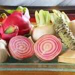 諏訪回廊 客人 - 野菜盛り