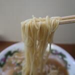 中華そば 陽気 - 麺リフト