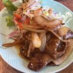 あおい食堂 - 豚の生姜焼き