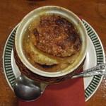 洋食のみかさ - オニオングラタンスープ