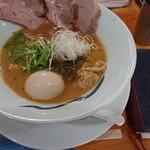 青波 - 無情(醤油)+煮卵