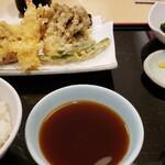 天ぷらめし 天之助 - てんやオールスター天ぷら定食