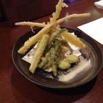 和神 - 春野菜の天ぷら