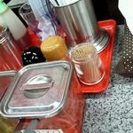 12849441 - ●テーブルの上には調味料がいろいろ●