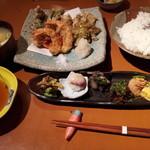 12849548 - これぞ風神ランチ 天ぷら定食¥1500