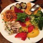 12849841 - 野菜の前菜1000円