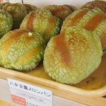 道の駅みやま がまだしもん - 料理写真:古賀茶業さんの 玉露メロンパン