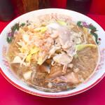 ラーメン二郎 - 料理写真:小ラーメン780円ヤサイアブラ