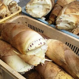 京都は西山産の筍を毎朝買い付けに!通販お取り寄せもOK
