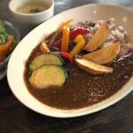 ぷちぽんとkitchen+farm - 料理写真:カレー