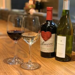 【串揚げ×ワイン】ソムリエが厳選したワイン&シャンパン