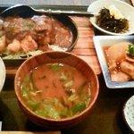 旬菜美酒 びんび家 - びんび家定食
