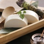 銀座 竹の庵 - 料理長の技・竹の庵の命の【手作りよせ豆富】