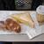 ベーカリーパオ - 料理写真:購入したパン & サービスのコーヒー
