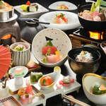 萩姫の湯栄楽館 - 【ご宿泊のお客様】【和食膳】スタンダードご夕食メニュー