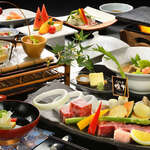 萩姫の湯栄楽館 - 【ご宿泊のお客様】【ふくしま煌牛会席】