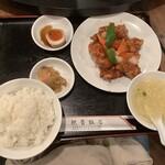 shanhaishukaijinhanten - 本日の日替り定食① 酢豚 880円(税込)