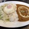 Tajimaharu - 料理写真:Eランチセットだったか。いわゆるカレーライスです。でもニッポンのカレーライスともまた違うんだよなぁ。ウマイです。