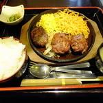 居酒屋 NIJYU-MARU 桜木町駅前店 - 日替わりAランチのハンバーグ\700