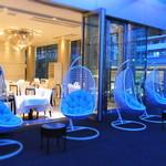 リストランテ ウミリア - 夕暮れは、シャンパン片手に・・・。