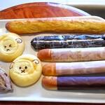 ぐりむわーるど - 料理写真:購入したパン