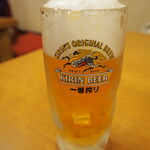 みぃーの食卓 - 生ビール