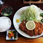 128519964 - メンチカツ定食