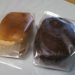 菓子工房みずほ - 焼きチョコと焼きチーズ