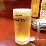 串かつ ひょうたん - 生ビール