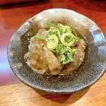 串かつ ひょうたん - 牛すじのどて煮(350円)