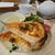 アフタヌーンティー・ティールーム - スモークチキンとチーズのフレンチトーストサンド