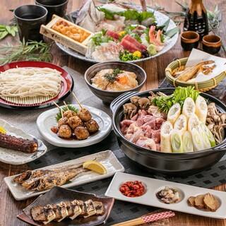 魚介類はもちろん、お肉料理も自慢の逸品が揃っています!