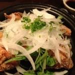 創作和食 くらしこ - 唐揚新玉ゆずぽんず580円