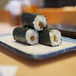 寿司安 - 干瓢巻:俵積みにして
