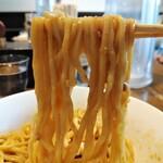 128531769 - 汁なし担々麺  麺リフト