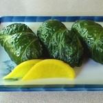 喫茶やまなみ - 料理写真:満腹めはりセット 900円 めはり寿司