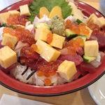 12854718 - 海鮮バラちらし丼\950