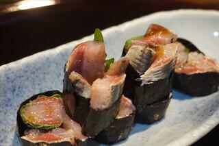 いわし料理 西鶴 - しそ巻きUP