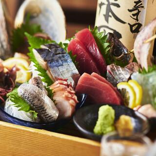 ランドマークタワーで三浦半島佐島漁港の朝どり魚が味わえる!