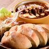 サンタカフェベーカリー グランママ - 料理写真:ポークシチューセット(ランチセットで頂けます)