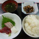 イチバ - お刺身定食 500円