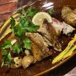 千葉県産銘柄鶏のモモ肉のロースト ローズマリーの香り